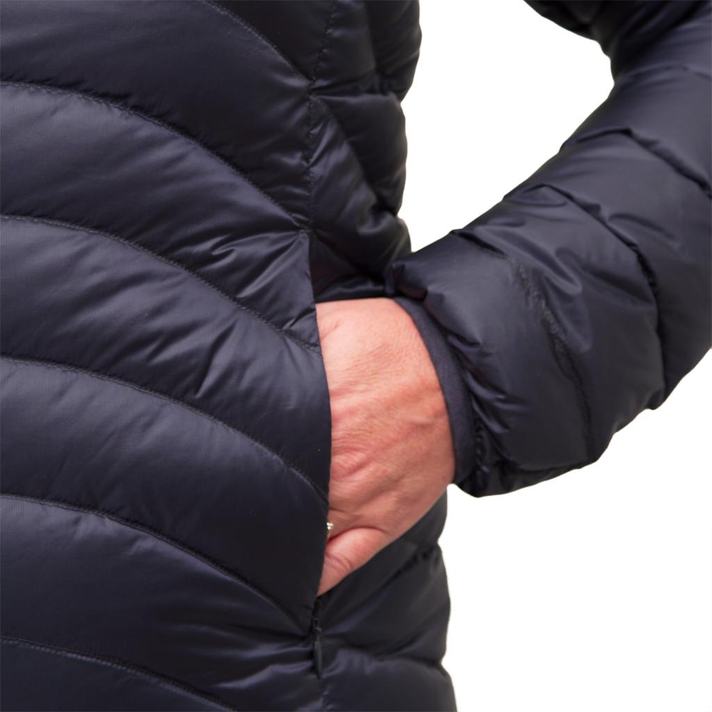 Lowland Outdoor LOWLAND OUTDOOR®  OPTIMUM Down jacket - Woman - Hoody - Navy