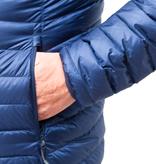 Lowland Outdoor LOWLAND OUTDOOR®  OPTIMUM Down jacket - Men - Hoody - Cobalt