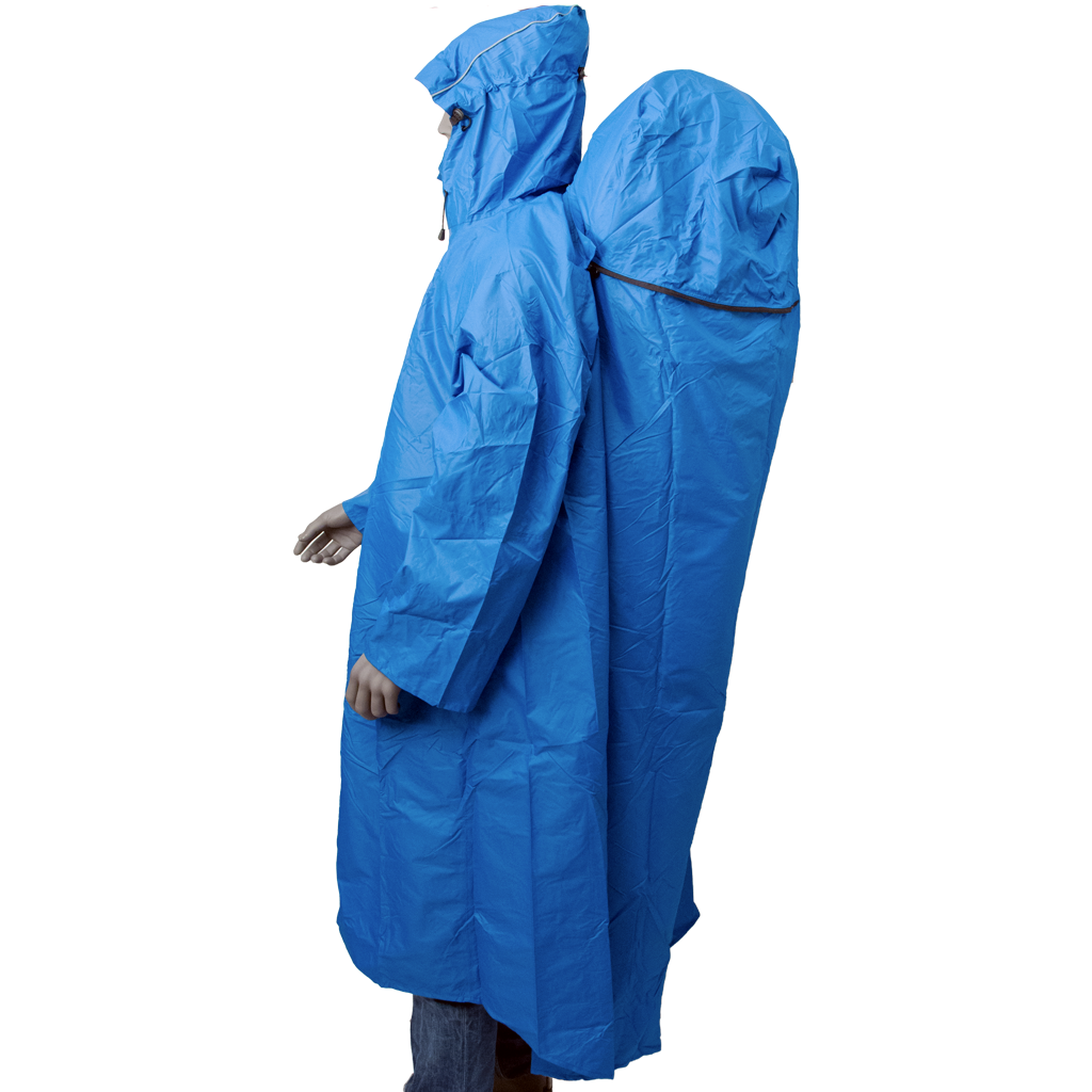 Lowland Outdoor LOWLAND OUTDOOR® Backpack Poncho - 100% waterproof (7000mm) - Highly Breathable