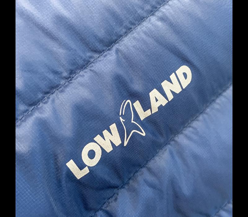LOWLAND OUTDOOR®  OPTIMUM Down jacket - Men - Navy