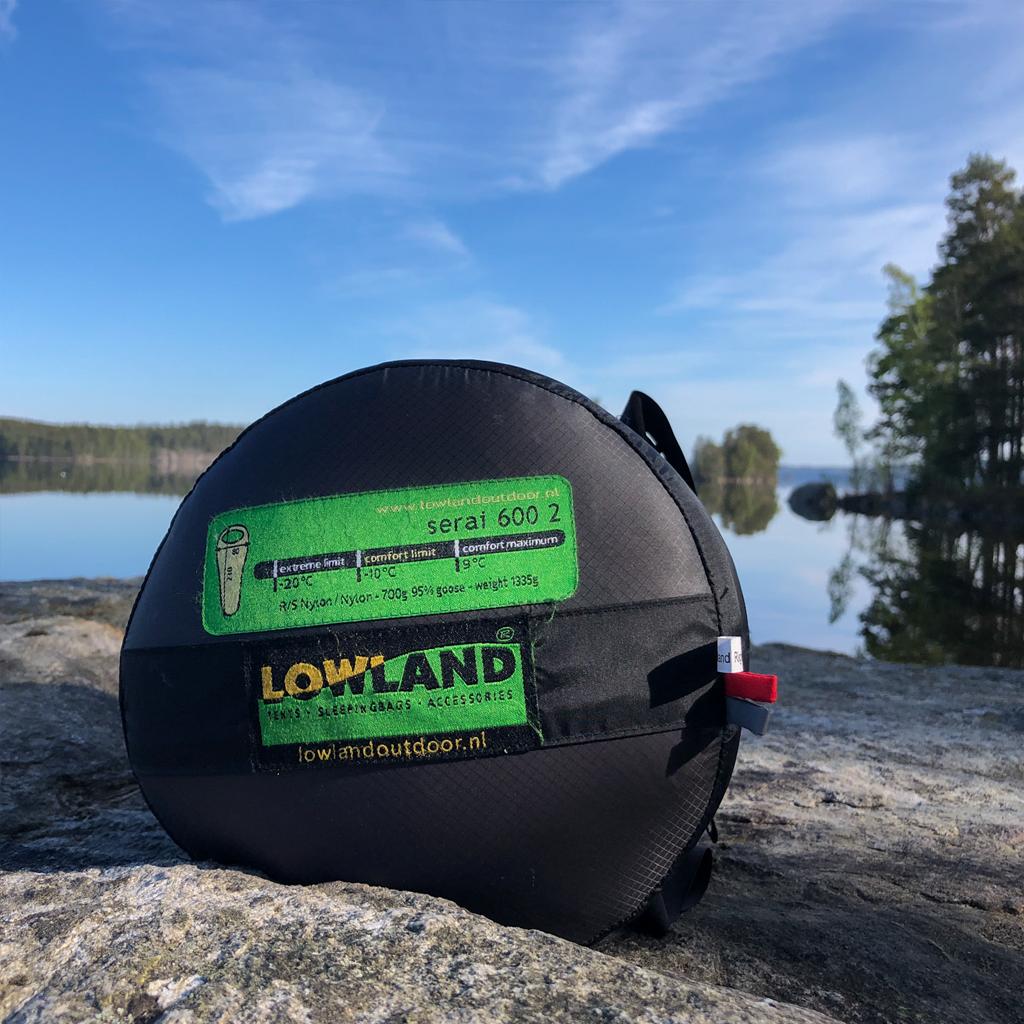 Lowland Outdoor LOWLAND OUTDOOR® Serai 600 1 - 1240 gr - 215x80 cm -10°C