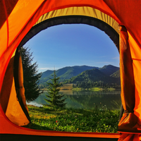 LOWLAND OUTDOOR® Explorer slaapmat 198 cm x 66 cm x 10 cm - R-Value 1,8