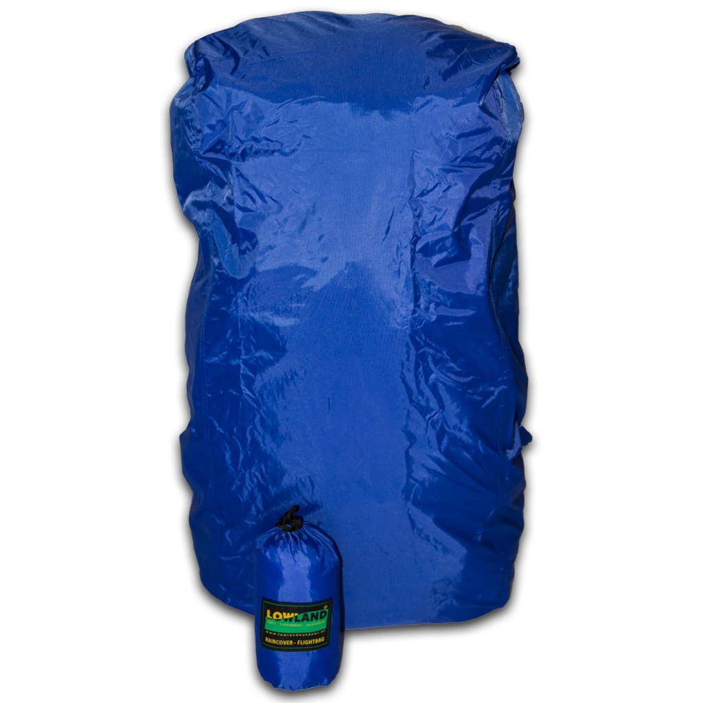 Lowland Outdoor LOWLAND OUTDOOR® Raincover Flightbag - Waterproof PU-Oxford Nylon <85L - 304gr