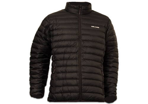Lowland Outdoor OPTIMUM Daunenjacke - Men - Black