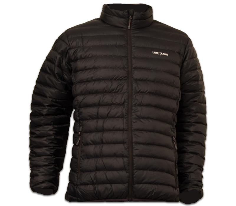 LOWLAND OUTDOOR®  OPTIMUM Donsjas - Men - Black