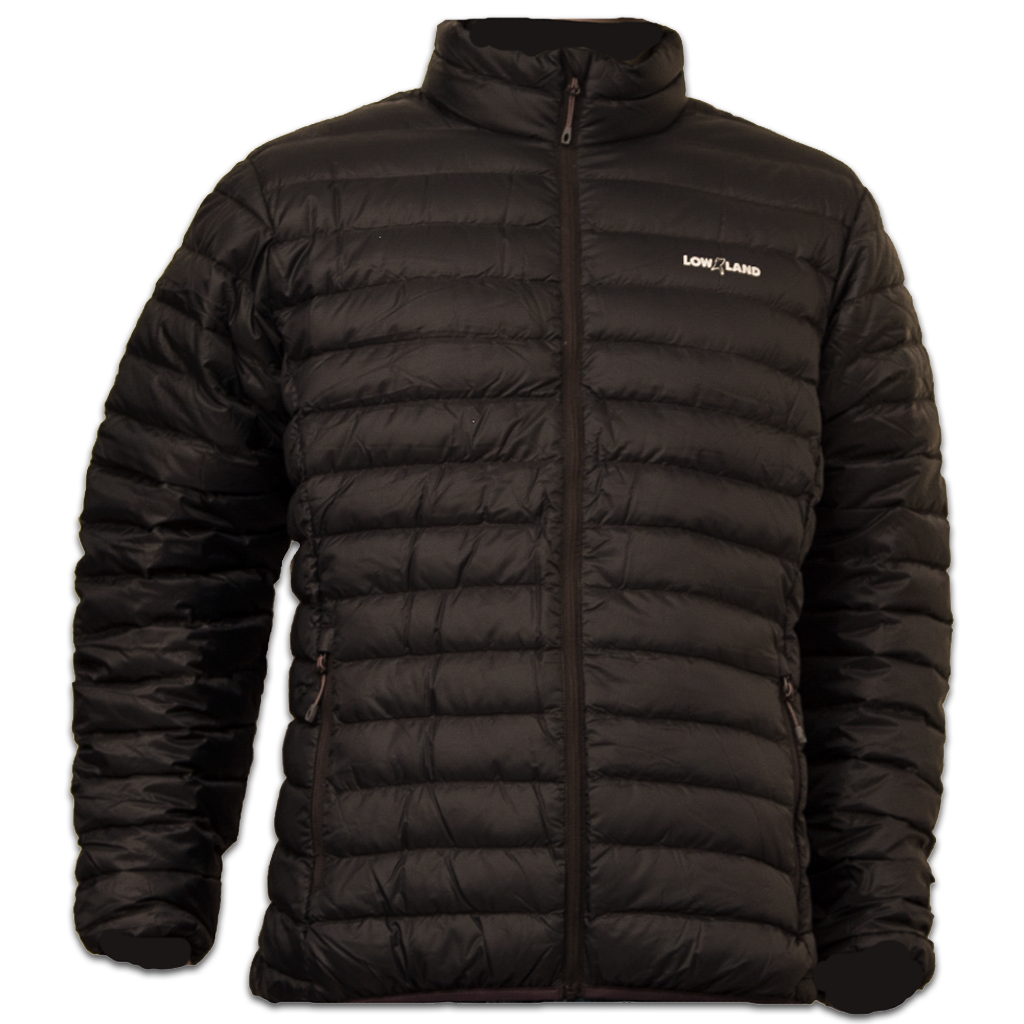Lowland Outdoor LOWLAND OUTDOOR®  OPTIMUM Down jacket - Men - Black