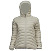 Lowland Outdoor LOWLAND OUTDOOR®  OPTIMUM Down jacket - Woman - Hoody - Bone