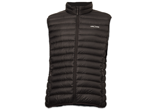 Lowland Outdoor OPTIMUM Daunen bodywarmer - Black