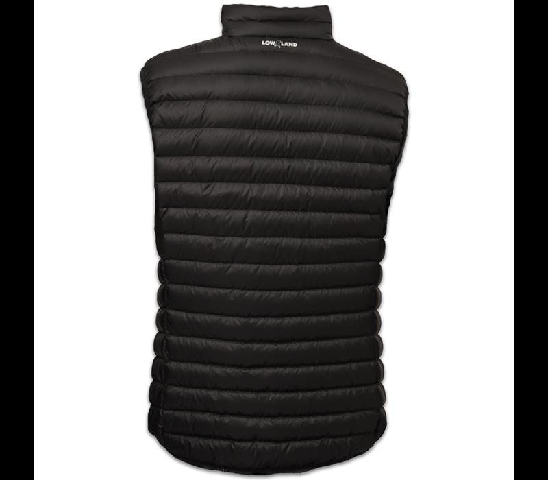 LOWLAND OUTDOOR® OPTIMUM Daunen bodywarmer - Black