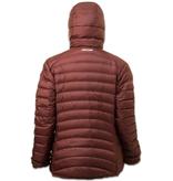 Lowland Outdoor LOWLAND OUTDOOR®  OPTIMUM Down jacket - Woman - Hoody - Plum