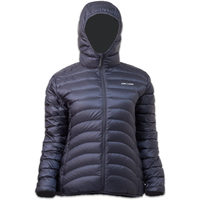 LOWLAND OUTDOOR®  OPTIMUM Down jacket - Woman - Hoody - Navy
