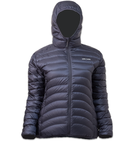 Lowland Outdoor OPTIMUM Down jacket - Woman - Hoody - Navy