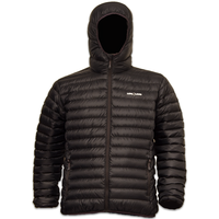 LOWLAND OUTDOOR® OPTIMUM Daunenjacke - Men - Hoody - Black