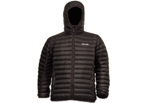 Lowland Outdoor OPTIMUM Daunenjacke - Men - Hoody - Black