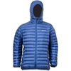 Lowland Outdoor LOWLAND OUTDOOR®  OPTIMUM Down jacket - Men - Hoody - Cobalt