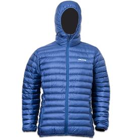 Lowland Outdoor OPTIMUM Daunenjacke - Men - Hoody - Cobalt