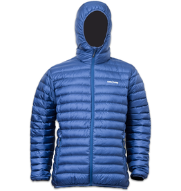 Lowland Outdoor OPTIMUM Down jacket - Men - Hoody - Cobalt