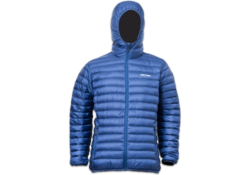 Lowland Outdoor OPTIMUM Donsjas - Men - Hoody - Cobalt