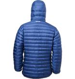 Lowland Outdoor LOWLAND OUTDOOR®  OPTIMUM Donsjas - Men - Hoody - Cobalt