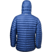LOWLAND OUTDOOR®  OPTIMUM Down jacket - Men - Hoody - Cobalt