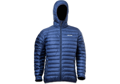 Lowland Outdoor OPTIMUM Down jacket - Men - Hoody - Navy
