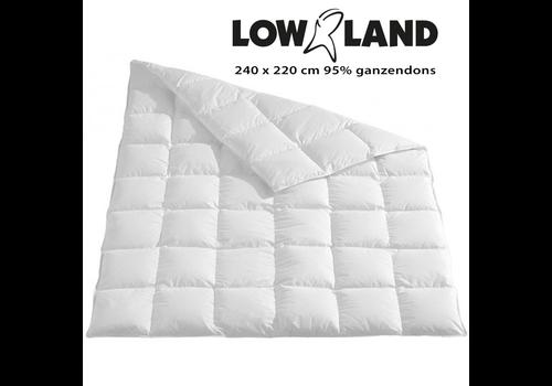 Lowland Outdoor Dekbed 220x240cm 95% ganzendons