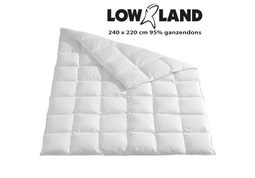 Lowland Outdoor LOWLAND OUTDOOR® Dekbed 220x240 cm 95% ganzendons