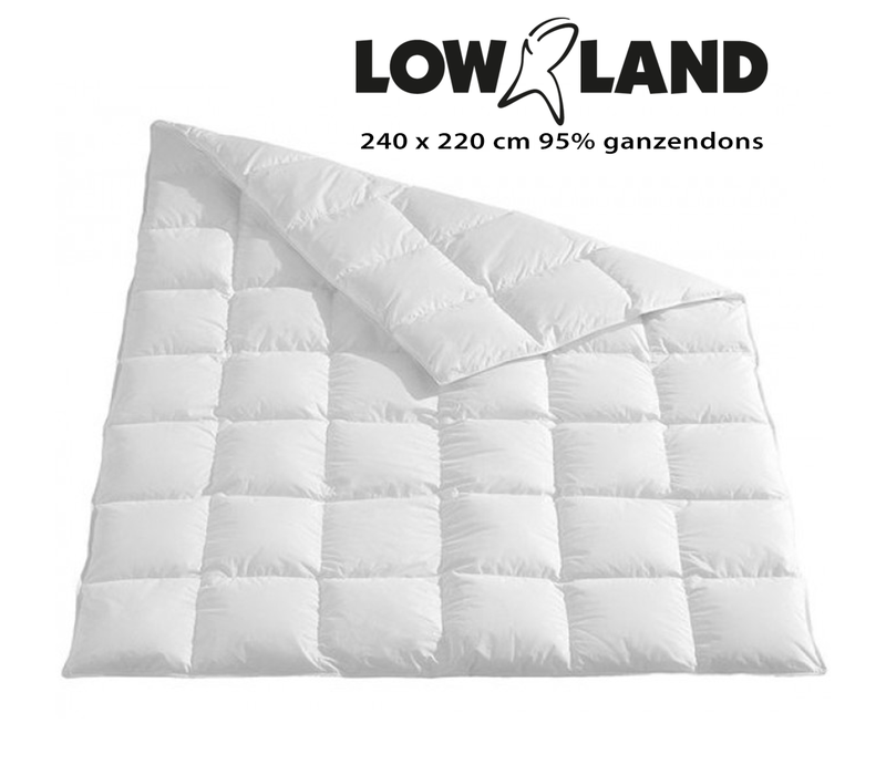 LOWLAND OUTDOOR® Dekbed 220x240 cm 95% ganzendons