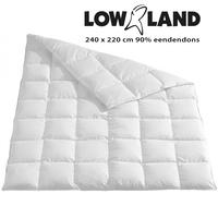 LOWLAND OUTDOOR® Daunendecke 220x240cm 90% Entendaunen