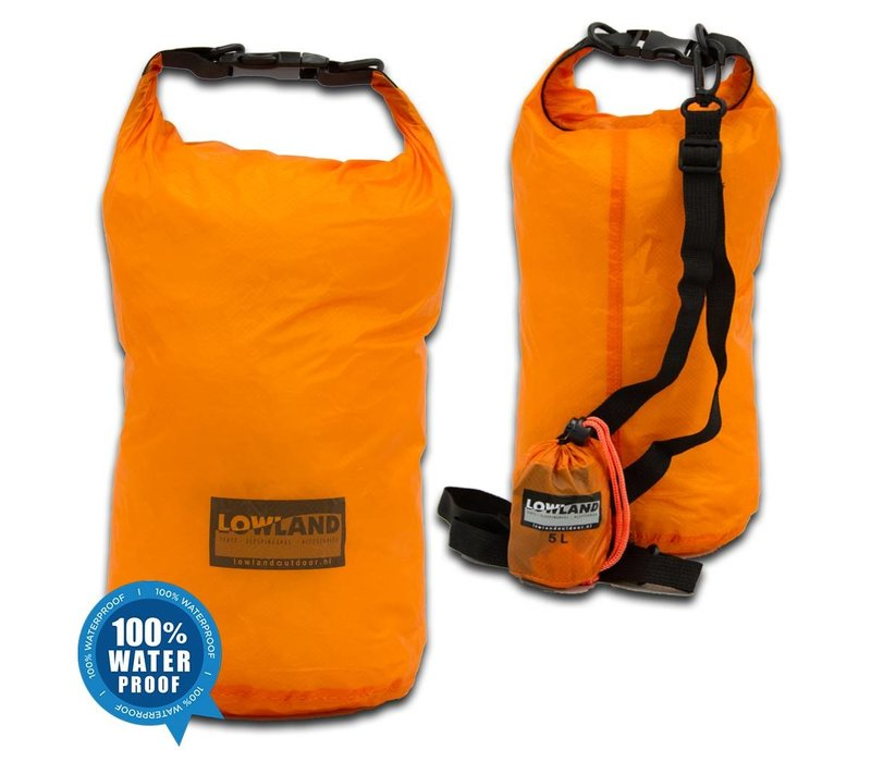 LOWLAND OUTDOOR® Dry Bags, set of three - 5L - 10L - 20L
