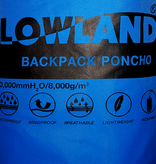 Lowland Outdoor LOWLAND OUTDOOR® Poncho per i backpackers/saccopelisti - 100% impermeabile (10.000mm) - ventilazione efficace (8.000g/M²)