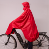 Lowland Outdoor LOWLAND OUTDOOR® Poncho imperméable vélo - 100% imperméable (10.000mm) - ventilation efficace (8.000g/M²)