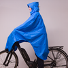 Lowland Outdoor LOWLAND OUTDOOR® Poncho Bicicletta - 100% impermeabile (7000mm) - ventilazione efficace