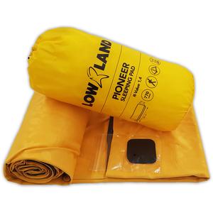 Lowland Outdoor LOWLAND OUTDOOR® Pioneer slaapmat 195 cm x 60 cm x 6 cm - R-Value 1,4