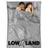 Lowland Outdoor LOWLAND OUTDOOR® Hüttenschlafsack - 100% Seide - 2 pers - 220x160 cm - 255g