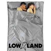 LOWLAND OUTDOOR® Sábana saco de seda 100% - 2 pers - 220 x 160 cm - 255gr