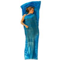 LOWLAND OUTDOOR® Sac a viande - 100% Soie naturelle - mummy - 220x80/70 cm - 95gr
