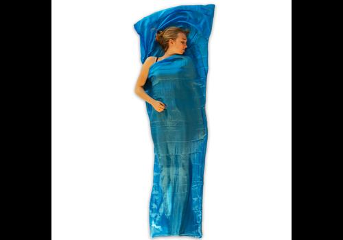 Lowland Outdoor Sac a viande - 100% Soie naturelle - mummy -  220x80/70 cm - 95gr