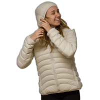 LOWLAND OUTDOOR®  OPTIMUM Down jacket - Woman - Hoody - Bone