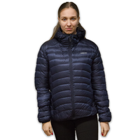 LOWLAND OUTDOOR®  OPTIMUM Donsjas - Woman - Hoody - Navy