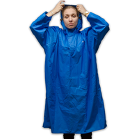 LOWLAND OUTDOOR® Walking Poncho - 100% waterproof (10.000mm) - Highly Breathable (8.000g/M²) CFK free