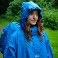 LOWLAND OUTDOOR® Backpack Poncho - 100% waterproof (10.000mm) - Highly Breathable (8.000g/M²)