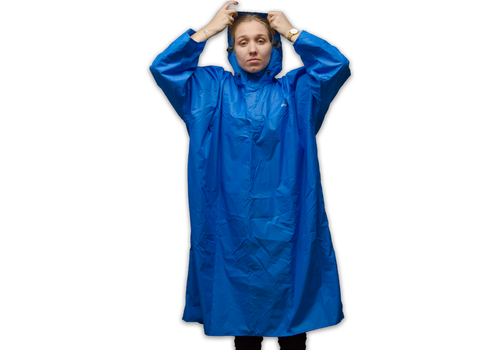 Lowland Outdoor Walking Poncho - 100% waterproof (7.000mm) - Highly Breathable (7.000g/M²)