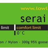 Lowland Outdoor LOWLAND OUTDOOR® Serai Ultra 1 - 795 gr - 215x75 cm 0°C