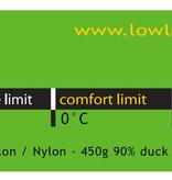 Lowland Outdoor LOWLAND OUTDOOR® Serai 1 - 895 gr - 215x75 cm 0°C