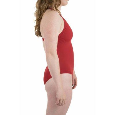 Arena W Solid Swim Pro red/white