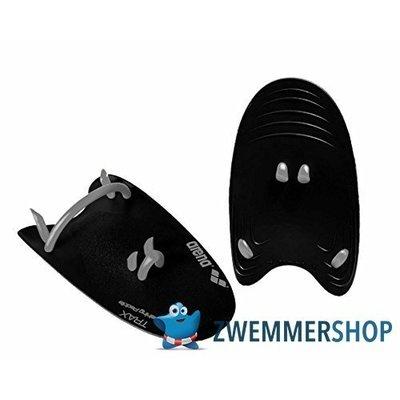 Arena Trax Hand Paddle Zwart Large