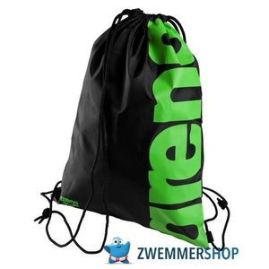 Arena Fast Swimbag black/acid-lime