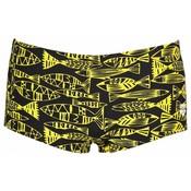 Arena M Fisk Low Waist Short black/yellow-star