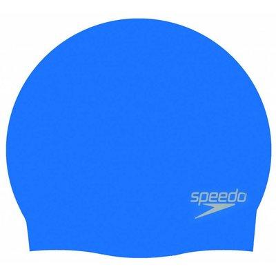 Speedo Plain Moulded Silicone Cap